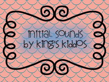 Initial Sounds: Kindergarten Lit Center FREEBIE