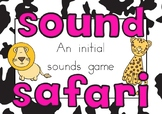 Initial Sounds Game - Sound Safari