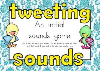 Initial Sounds Game - Tweeting Sounds