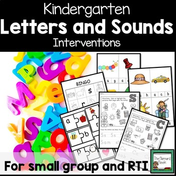 Letters and Sounds Interventions for Kindergarten