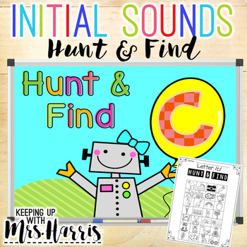Initial Sounds Hunt and Find Bundle