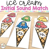Initial Sounds: Ice cream matching activity