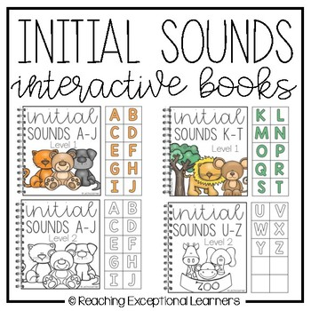 Initial Sounds Interactive Books