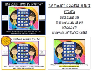 DIGRAPH ADD-ON for Initial Sounds