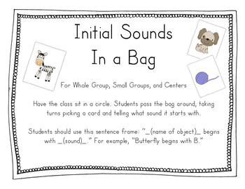 Initial Sounds Kit