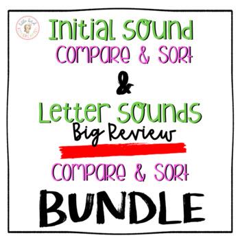Initial Sounds & Letter Sounds BIG REVIEW BUNDLE