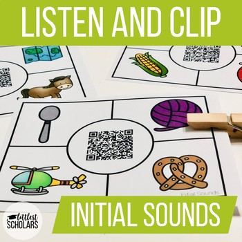 INITIAL SOUNDS [Listen and Clip]