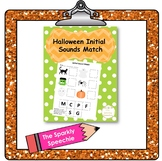 Initial Sounds Matching Handout - Halloween Themed!