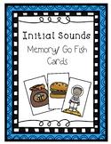 Initial Sounds Memory/Go Fish Game -Phonological Awareness