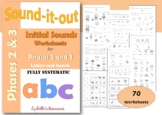 Initial Sounds Phonic Worksheets for Reception/Pre-K and S