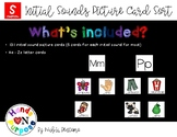 Initial Sounds Picture Card Sort - Spanish Version