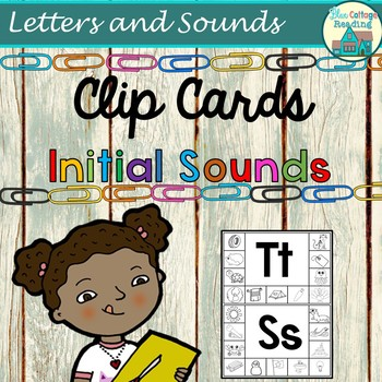 Initial Sound Picture Clip Cards