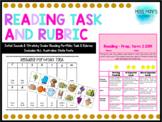 Initial Sounds Reading Portfolio Task & Rubric - ALL AUS S