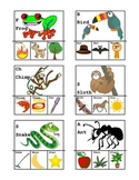 Initial Sounds/Rhyming Clip Cards