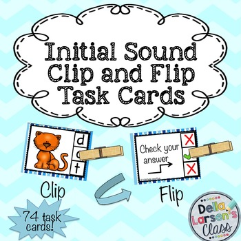 Initial Sounds Task Cards