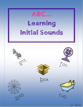 Initial Sounds: Words plus Pictures