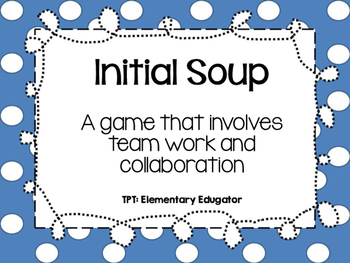 Initial Soup