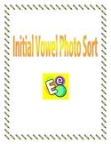 Initial Vowel Sound Photo Sort