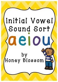 Initial Vowel Sound Sort
