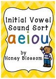 Initial Vowel Sound Sort
