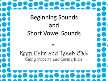 Initial Vowel sounds Practice
