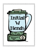 Initial W Blends Activity