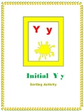 Initial Y - Sorting Activity - File Folder Game