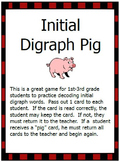 Initial and Ending Digraph Pig Games