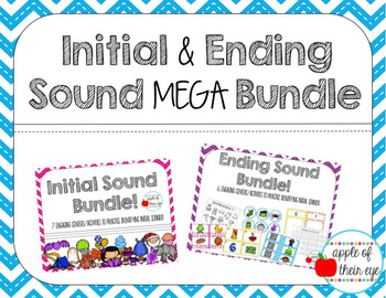 Initial and Ending Sound MEGA Bundle