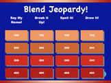 Initial and Final Blend Jeopardy Games! {27 games}