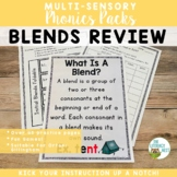 Initial and Final Blends Orton-Gillingham Level 1 Multisensory Phonics