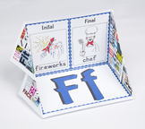 Initial and Final Consonant Display Case: F
