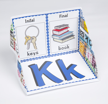 Initial and Final Consonant Display Case: K