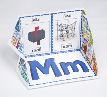 Initial and Final Consonant Display Case: M