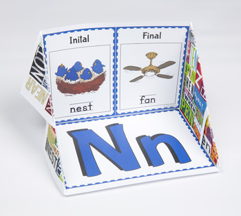 Initial and Final Consonant Display Case: N