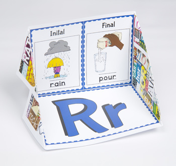 Initial and Final Consonant Display Case: R