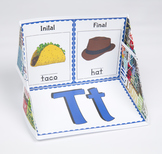Initial and Final Consonant Display Case: T