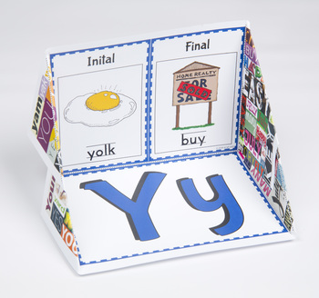 Initial and Final Consonant Display Case: Y