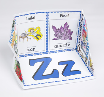 Initial and Final Consonant Display Case: Z