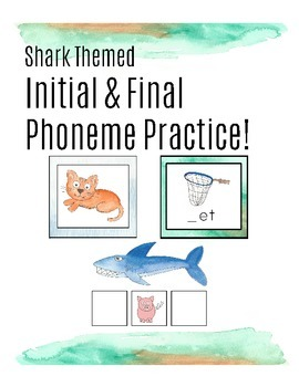 Beginning Sound and Ending Sound Practice