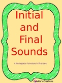Initial and Final Sounds