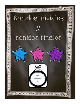 Initial and Final Sounds in Spanish