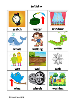 Initial and Medial /w/ by Speech Pathology Toolkit | TpT