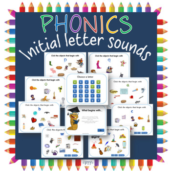 Initial /  beginning letter sounds PowerPoint game