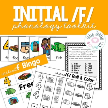 Initial /f/ phonology toolkit