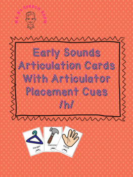 Initial /h/ Articulation Card Set With Visual Cues
