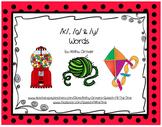 Initial /k/, /g/ & /y/ Words MiniBook