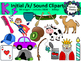 Initial /k/ sound clipart - 90 images! Personal and Commercial use
