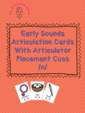 Initial /n/ Articulation Card Set With Visual Cues