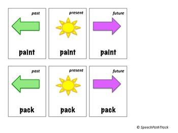 Initial /p/, /pl/, /pr/ regular verbs
